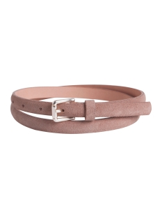 Pieces Accessoire PCLISSA LEATHER JEANS BELT 17079762 Cameo Rose