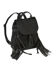 Only Tas onlRIVER PU FRINGES BACKPACK ACC 15131885 Black