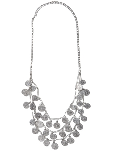 Pieces Accessoire PCLILA LONG NECKLACE 17079273 Silver Colour