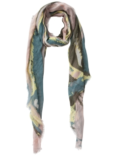 Pieces Sjaal PCSUSAN LONG SCARF 17081757 Deep Lichen Green