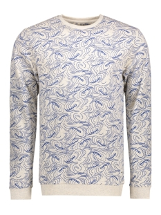 Only & Sons Sweater onsSEAN CREW NECK 22005541 Oatmeal/Blue