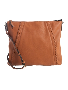 Pieces Tas PCSIGGI CROSS BODY 17081525 Cognac