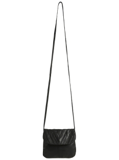 pclilac leather cross body 17079622 pieces tas black