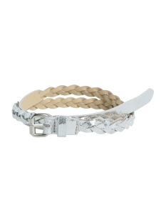 Pieces Riem PCSALEEMA WAIST BELT 17081721 Silver Colour