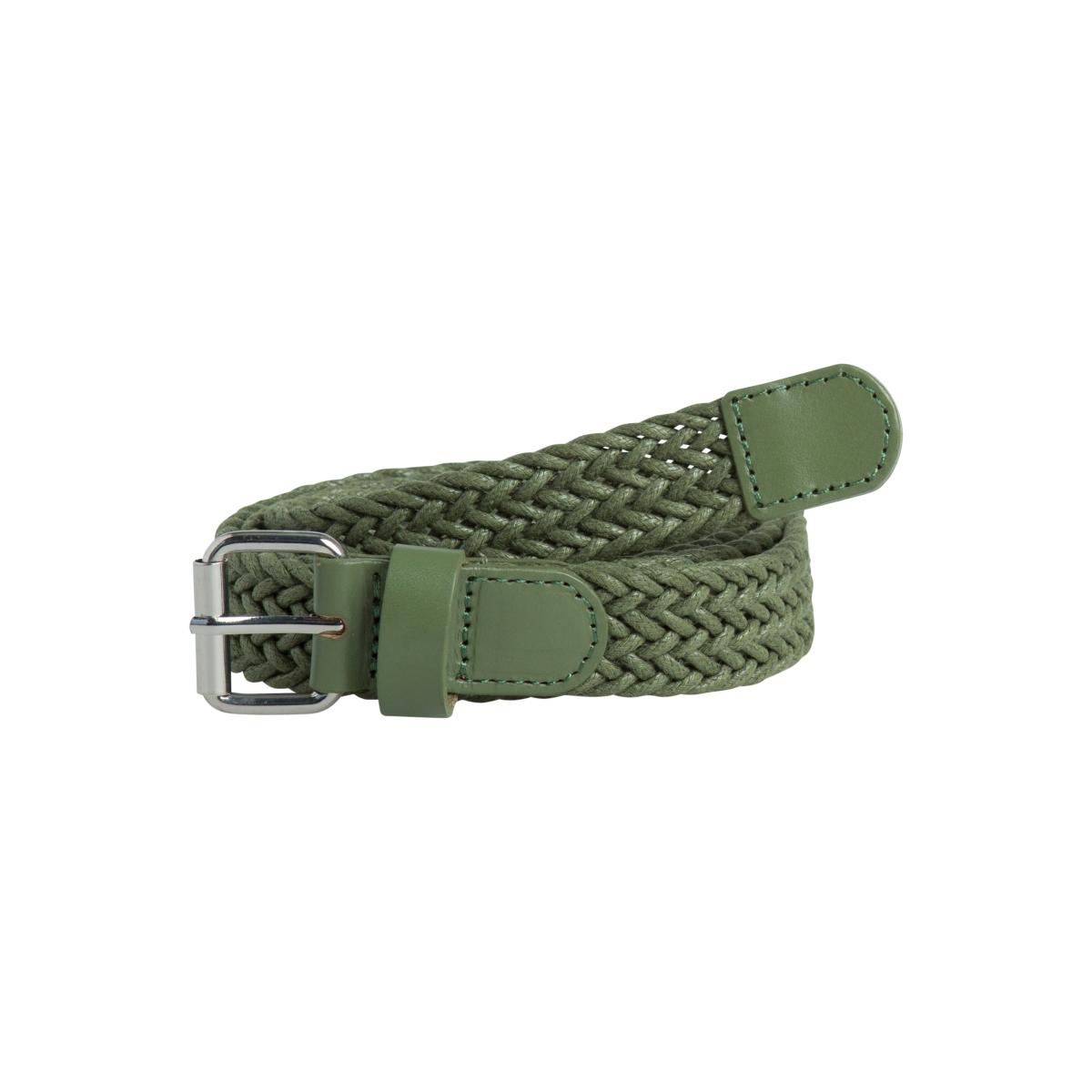 pcsevilla jeans belt 17081725 pieces riem deep linchen green