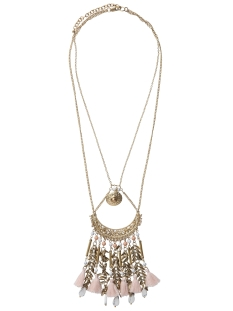 Pieces Sieraad PCLEA NECKLACE 17079289 Gold Colour