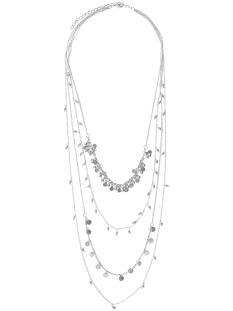 Pieces Sieraad PCKALLAS NECKLACES 17082730 Silver Colour