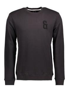 Only & Sons Sweater onsDRAKE APPLI CREW NECK EXP 22006360 Black