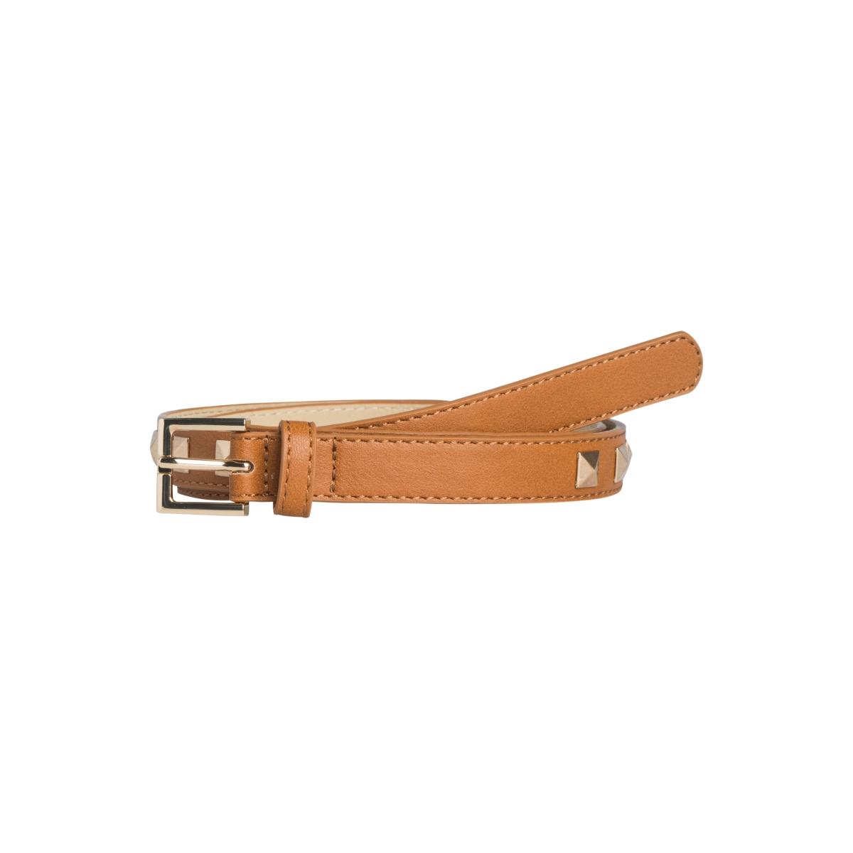 pckirsten jeans belt 17082412 pieces riem cognac