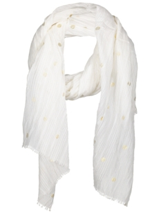 Vero Moda Sjaal VMBIG DOT LONG SCARF 10179229 Snow White
