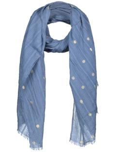 Vero Moda Sjaal VMBIG DOT LONG SCARF 10179229 Bluestone