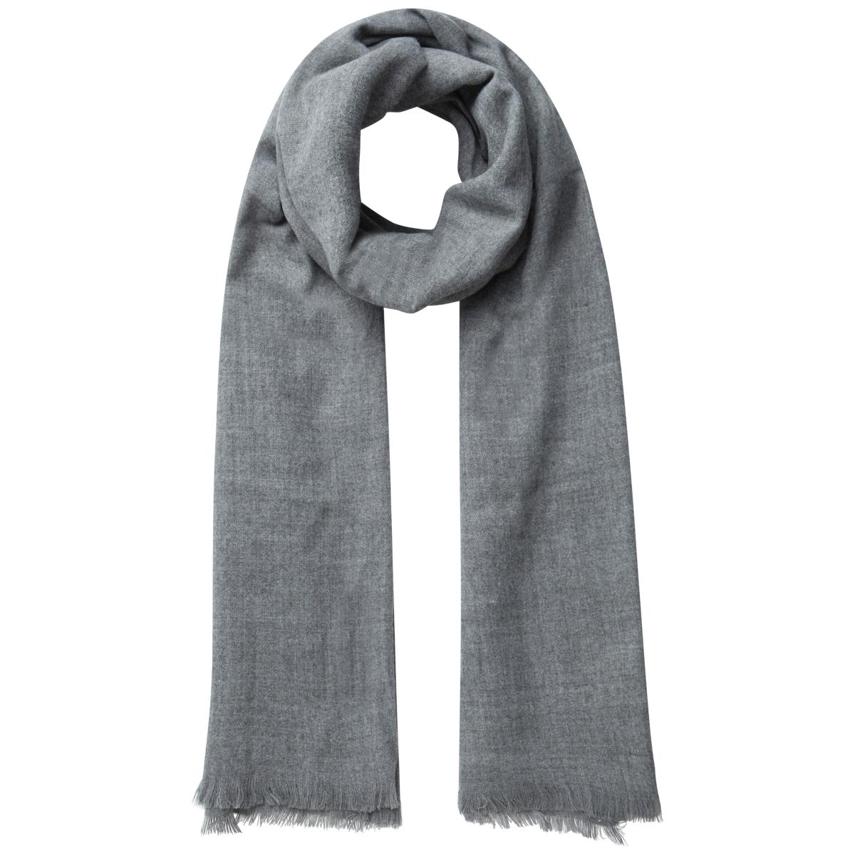 pcjusta long scarf 17083181 pieces sjaal medium grey melange