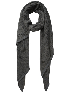 Pieces Sjaal PCJULLU LONG SCARF 17083228 Dark Grey Melange