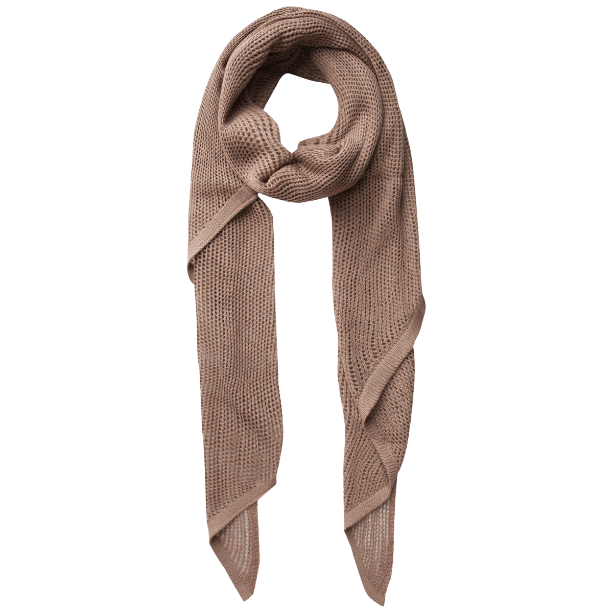 pcjullu long scarf 17083228 pieces sjaal ginger snap