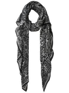 Pieces Sjaal PCJABA LONG SCARF 17083849 Black