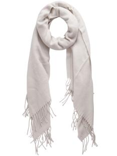 pckial long scarf noos 17057386 pieces sjaal whitecap gray