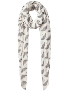 pcnala long scarf 17084538 pieces sjaal whitecap gray