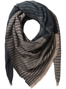 Pieces Sjaal PCJOLLY SQUARE SCARF 17083369 Black