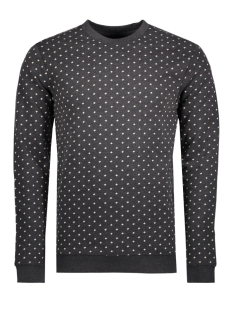 Only & Sons Sweater onsCADAM PRINTED CREW NECK 22007531 Black