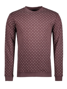 Only & Sons Sweater onsCADAM PRINTED CREW NECK 22007531 Fudge