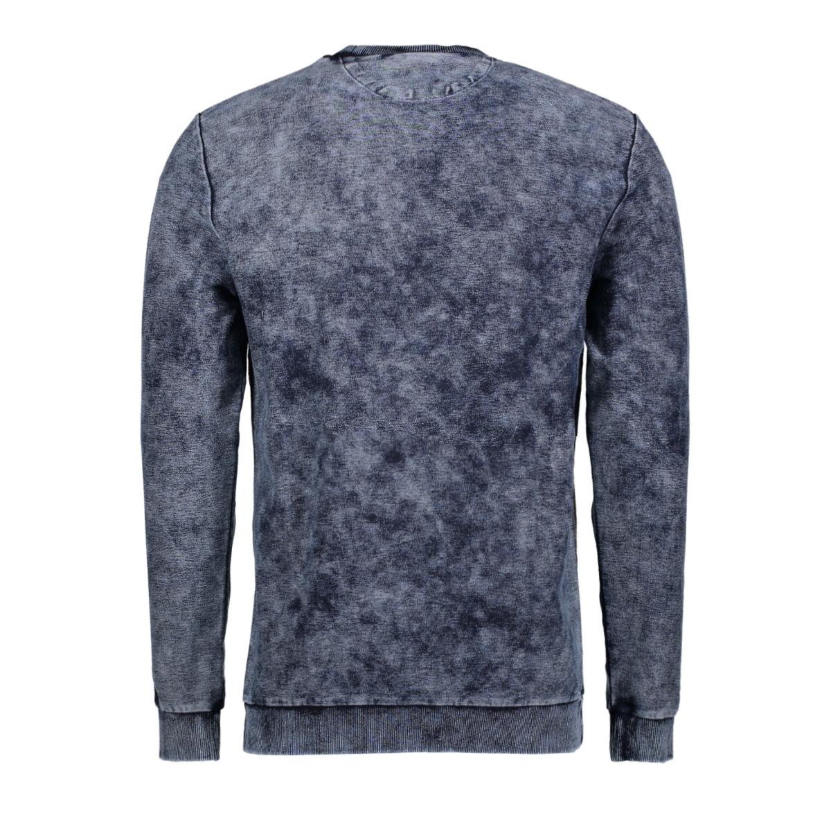 onslutz indigo crew neck sweat 22007541 only & sons sweater dress blues