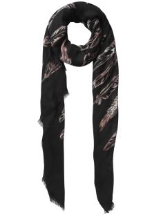 pcrosabella long scarf 17085223 pieces sjaal black