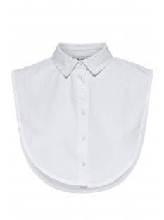 onlshelly weaved collar acc noos 15146071 only accessoire bright white