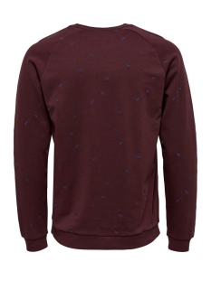 onschester small aoe crew neck 22007538 only & sons trui fudge