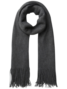 Pieces Sjaal PCPRACE LONG SCARF 17085506 Medium grey Melange