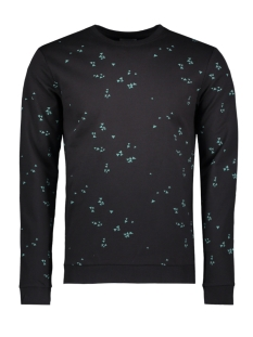 Only & Sons Trui onsVILO SIMPLE AOP CREW NECK 22007019 Black