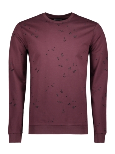 Only & Sons Trui onsVILO SIMPLE AOP CREW NECK 22007019 Fudge