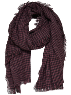 Only Sjaal onlAMINA WEAVED LONG SCARF ACC 15139822 Port Royale/W Black