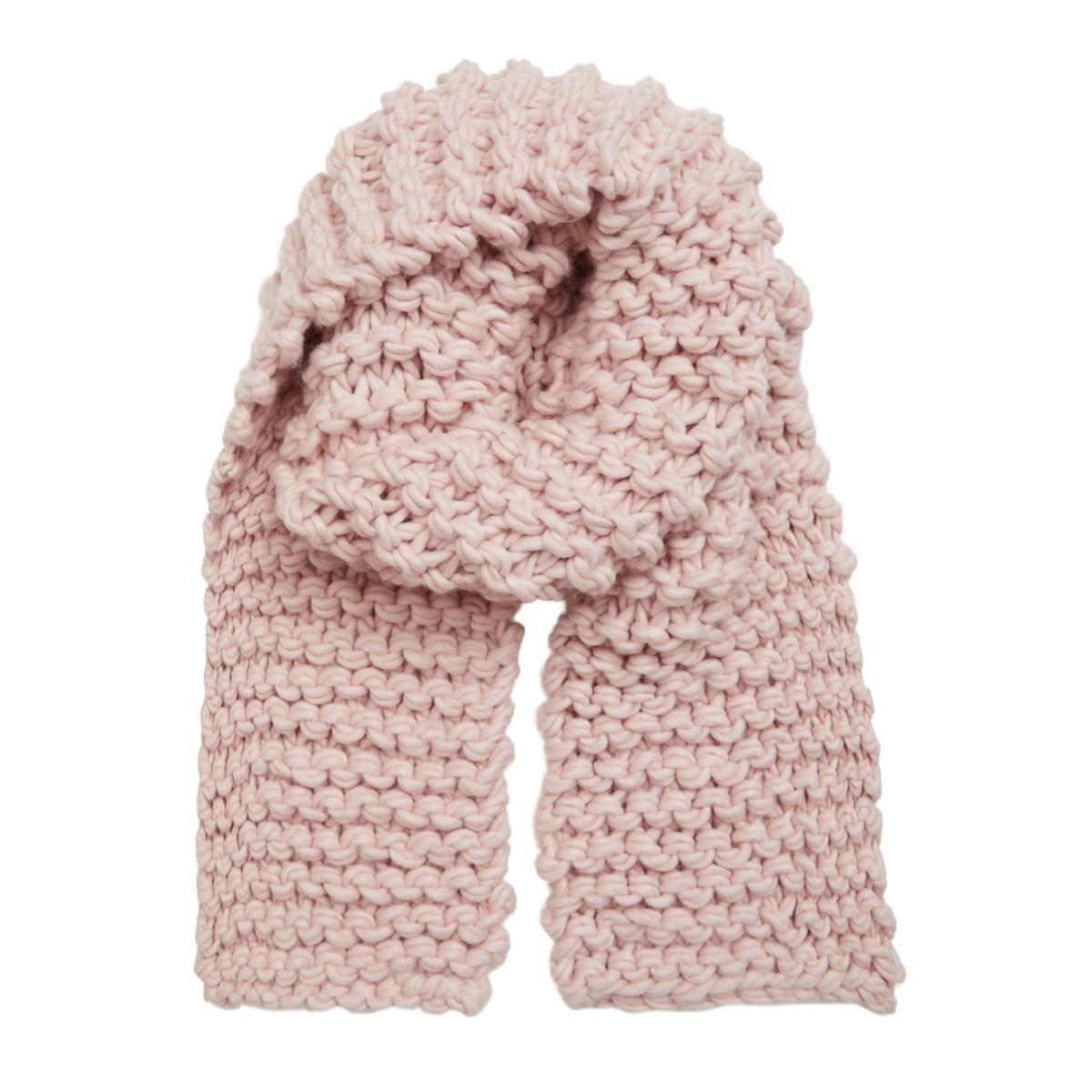 vieaster heavy knit scarf 14042930 vila sjaal peach whip