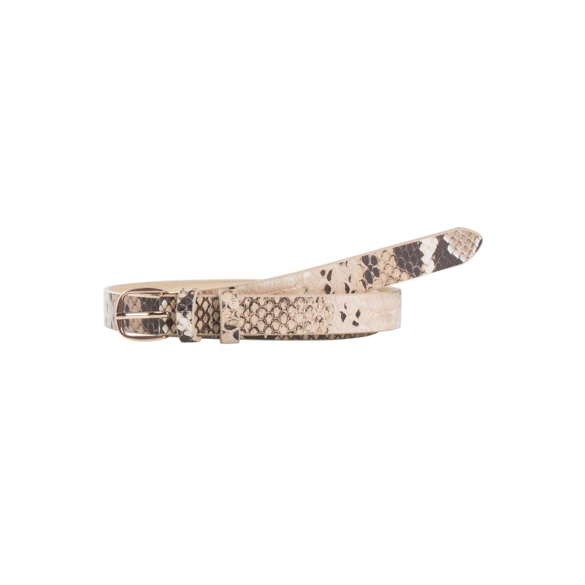 pcjulie jeans belt 17083423 pieces riem ginger snap