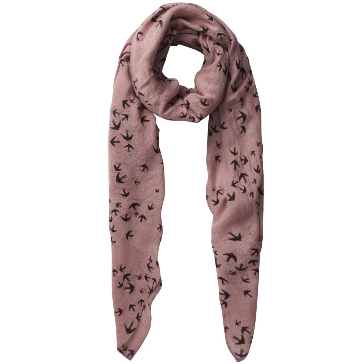pcraja long scarf 17085677 pieces accessoire ash rose