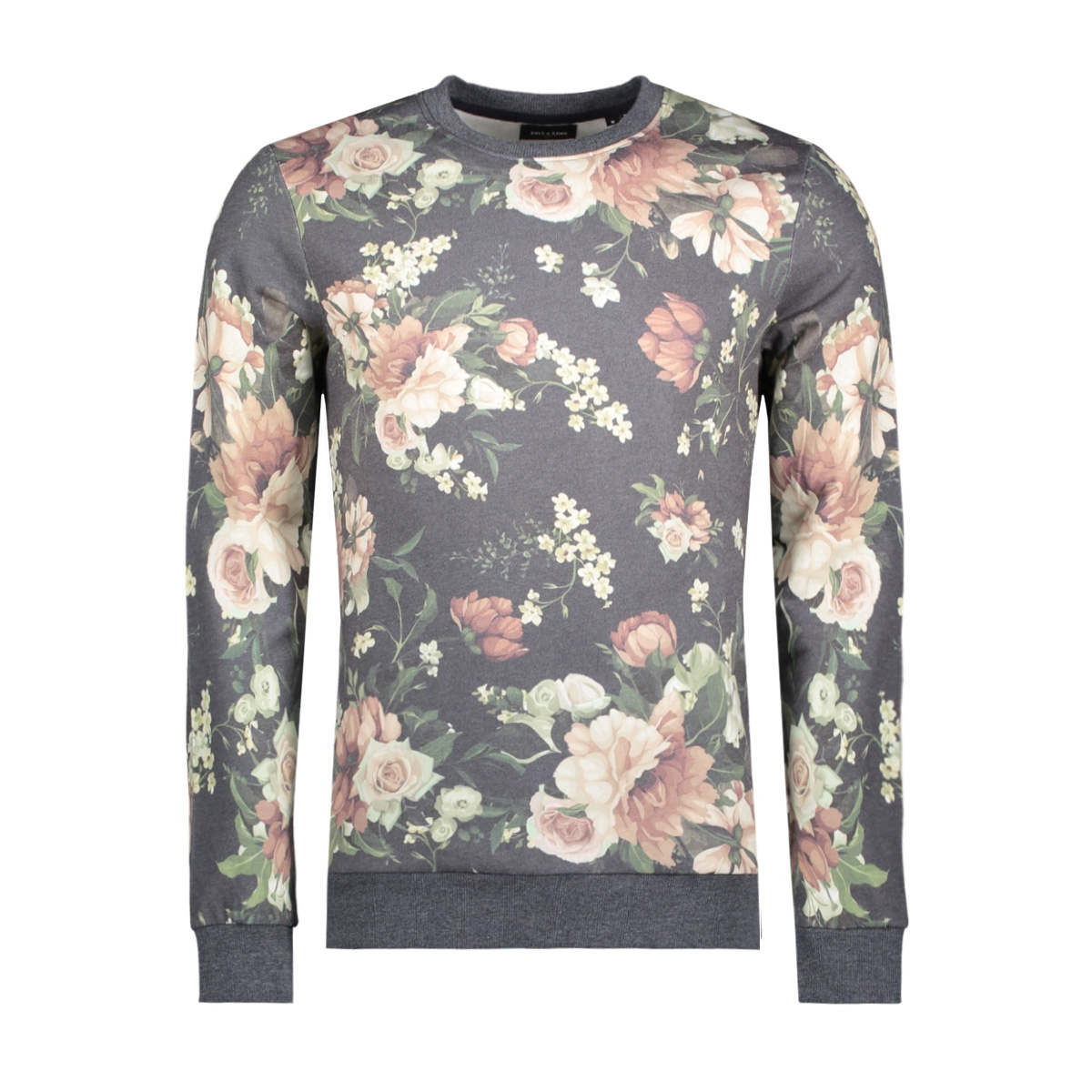 onsflanc sweat crew neck exp 22009775 only & sons sweater night sky