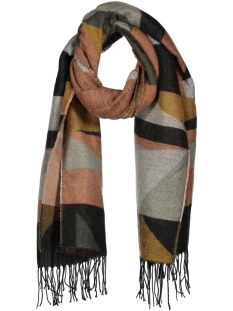pcpaste long scarf 17086641 pieces sjaal black