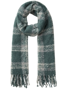Pieces Sjaal PCALBERTE LONG SCARF PB 17085766 Silver Pine