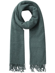 Pieces Sjaal PCAGNES LONG SCARF PB 17085775 Silver Pine/SOLID