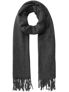 Pieces Sjaal PCAGNES LONG SCARF PB 17085775 Dark Grey Melange/SOLID