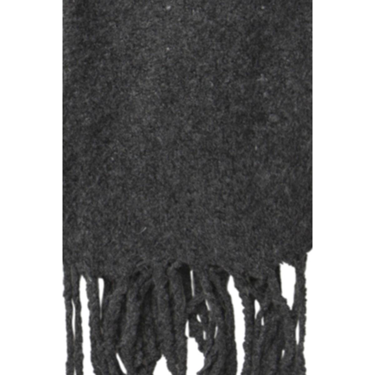 pcagnes long scarf pb 17085775 pieces sjaal dark grey melange/solid