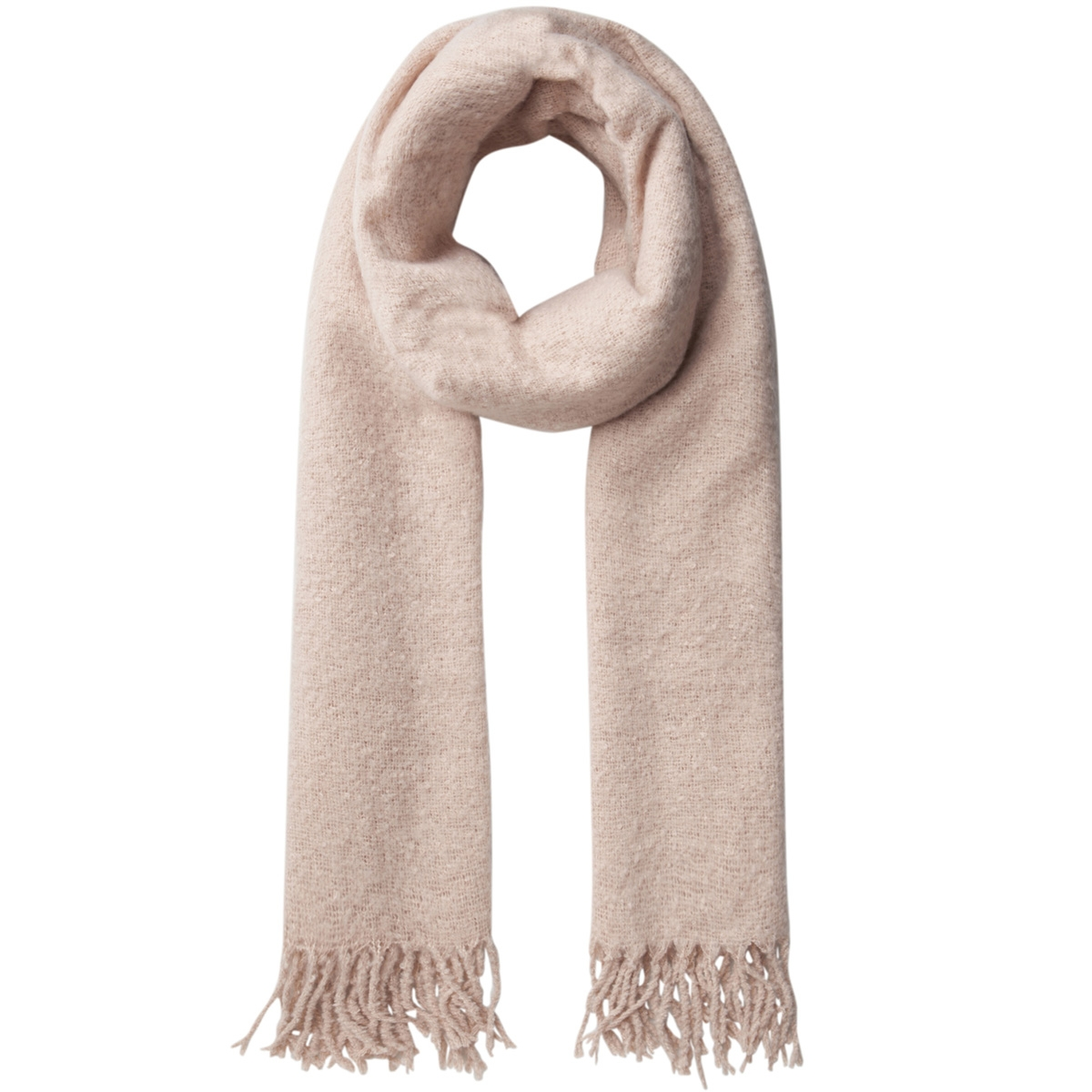 pcagnes long scarf pb 17085775 pieces sjaal evening sand/solid