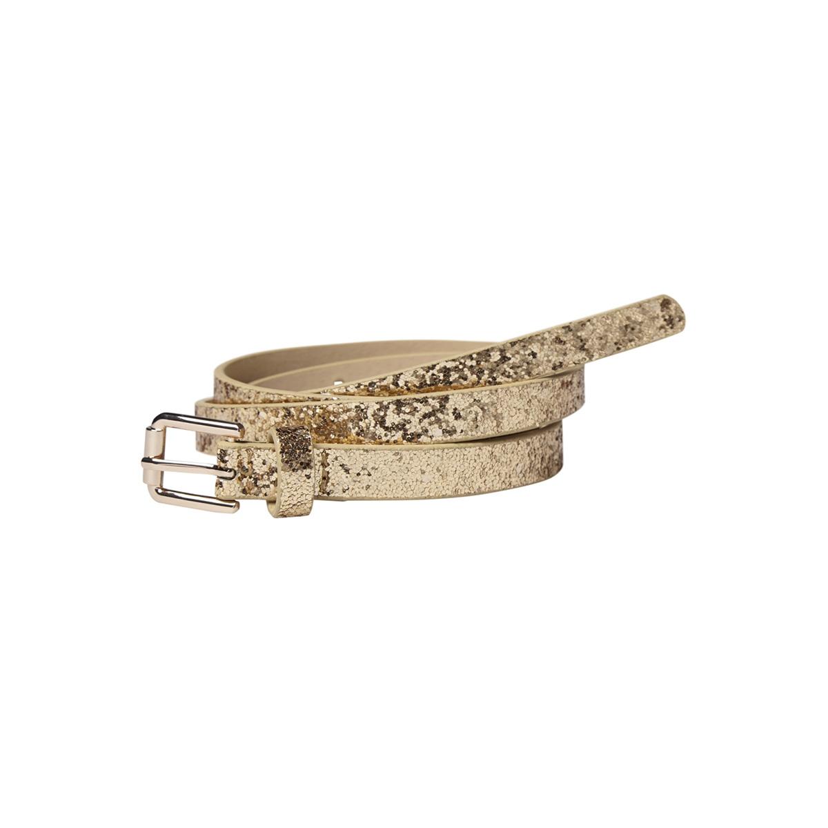 pcannabelle jeans belt 17085707 pieces riem gold colour