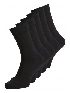 jacjens sock 5 pack noos 12113085 jack & jones accessoire black