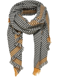 Only Sjaal onlSYDNEY WEAVED CHECK SCARF ACC 15145152 Chai Tea / Black