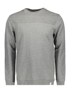 Only & Sons Sweater onsTRIP SWEAT CREW NECK 22008254 Medium Grey Melange