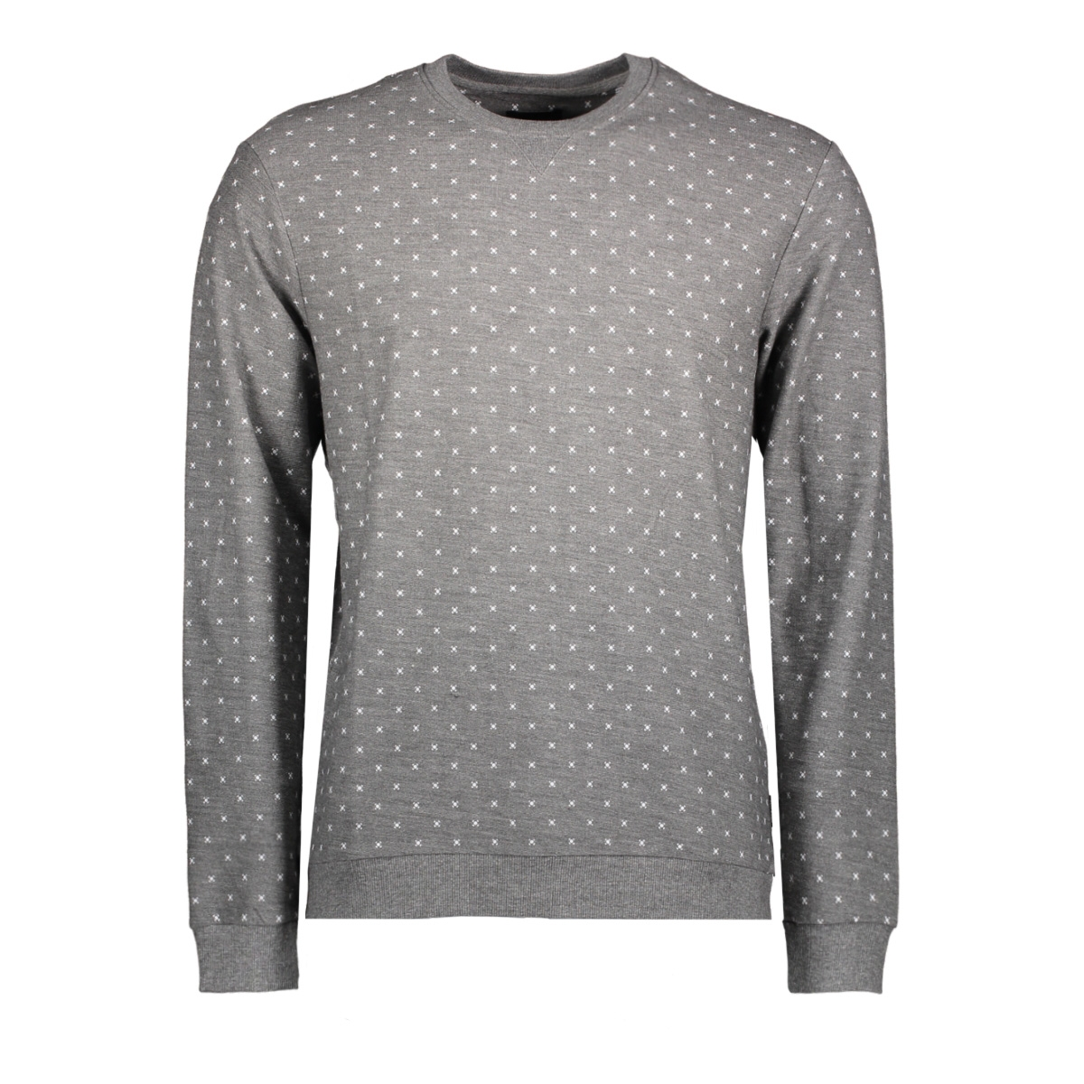 onstro aop sweat 22008257 only & sons sweater medium grey melange