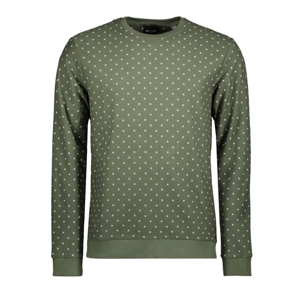 onstro aop sweat 22008257 only & sons sweater thyme