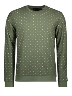 Only & Sons Sweater onsTRO AOP SWEAT 22008257 Thyme