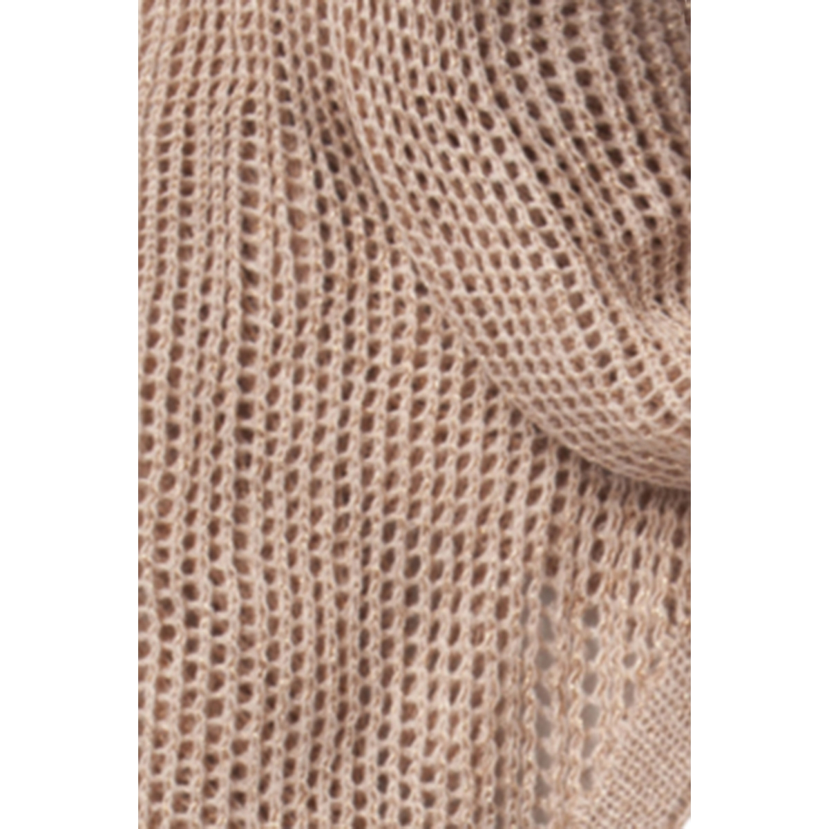 pcilu lurex long scarf 17087448 pieces sjaal evening sand